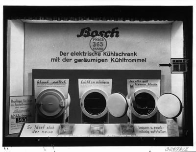 Bosch Kühlschrank Mit Kamera : Der erste kühlschrank von bosch u2013 eine runde sache u2013 bsh wiki