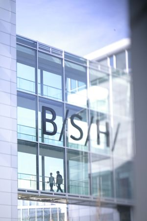Picture of the BSH headquarters in Neuperlach in the BSH wiki